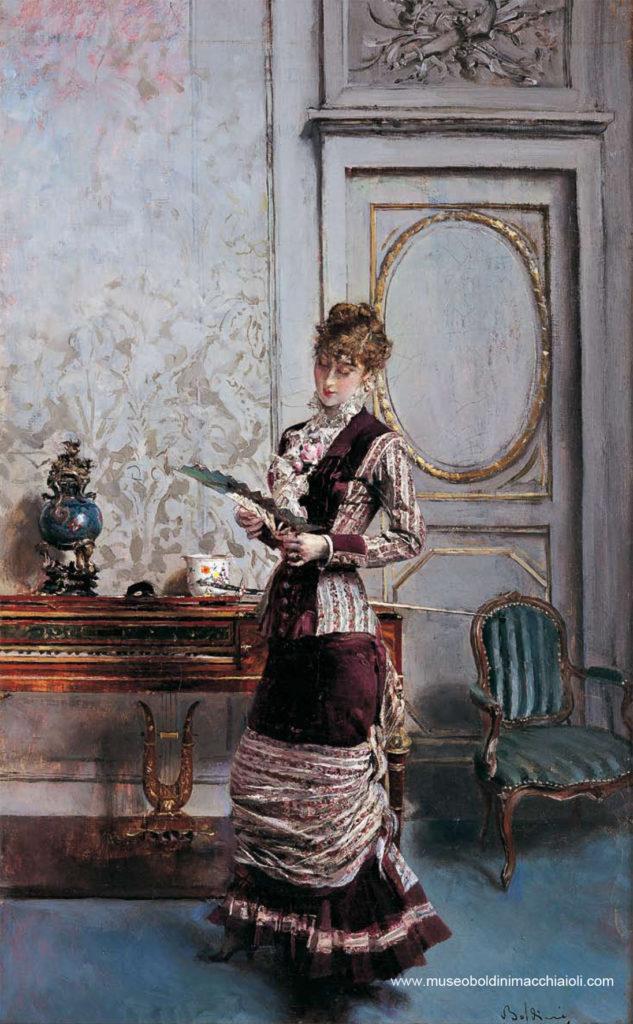 Risultato immagini per donna col ventaglio boldini