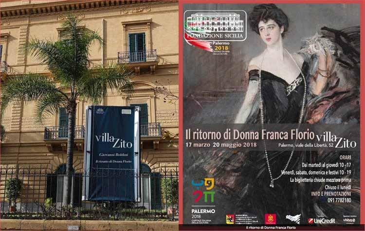 Ritratto di Donna Franca Florio, Giovanni Boldini