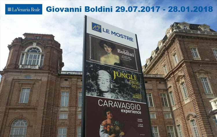 Grandi mostre Giovanni Boldini Reggia di Venaria
